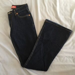 Guess flared bootcut denim jeans - size 24